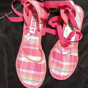 Roxy  wedges.  NWT