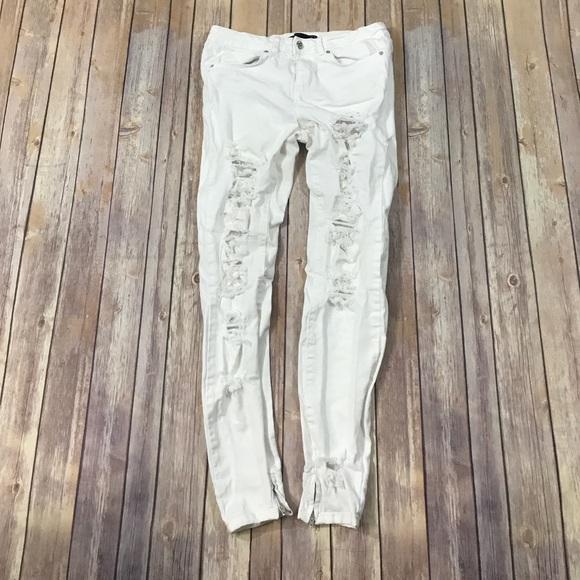 689a9977 Zara Jeans | Woman White Denim | Poshmark
