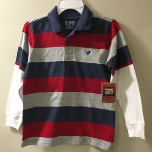 Polo Striped Shirt. 25% Off Two Or More Any Kids.