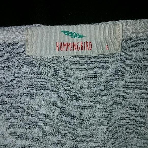 Hummingbird Tops - ❤*Boho, Bell Sleeved, Crop Top!*❤ NWOT!
