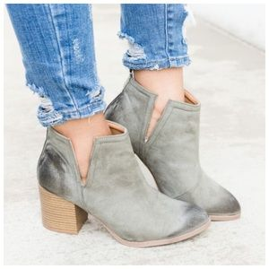 Shoes - ONLY A FEW LEFT* New faux suede oil finished boot