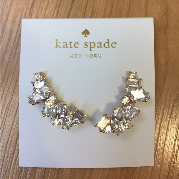great deals 2017 new arrival top quality kate spade Jewelry | Nwt Cluster Crawler Earrings | Poshmark