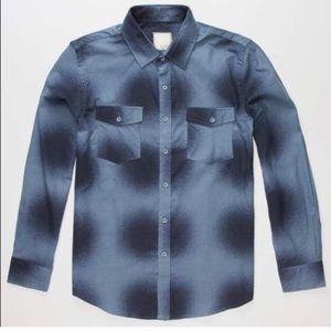 Visitor cash men's flannel shirt