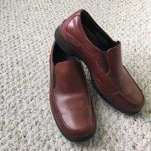 Men's brown leather Dansko shoes