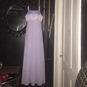 Night Way Collection formal dress in lilac