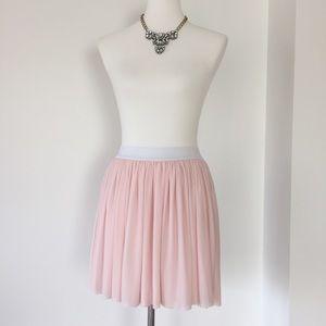 BlackMilk Pastel Pink Skater Skirt