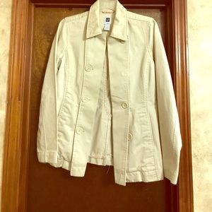 Old Navy short trench jacket