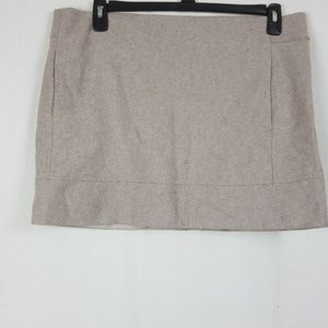 J. Crew Skirts - J.CREW WOOL MINI SKIRT SIZE 14