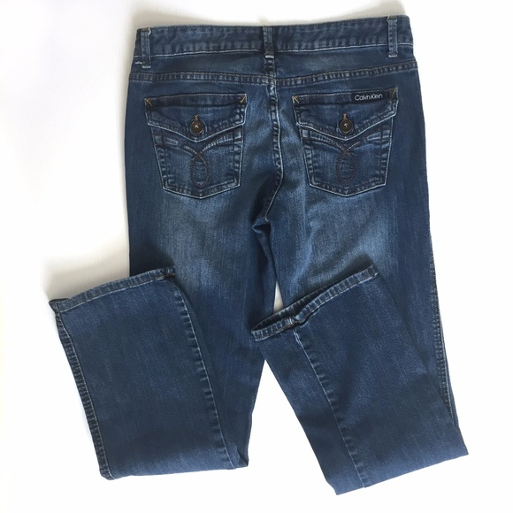 Calvin Klein Jeans Denim -    Sale  Calvin Klein Bootcut Jeans 0df005e74f