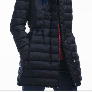 59dae91c Lacoste gently used women down jacket