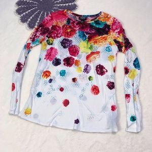 Prabal Gurung for Target Floral Long Sleeve Shirt