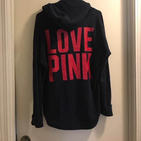 Navy vs pink patriots sweatshirt M afbdd066e