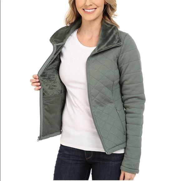 f050f210a 🎁The North Face Caroluna Crop Jacket Coat Green