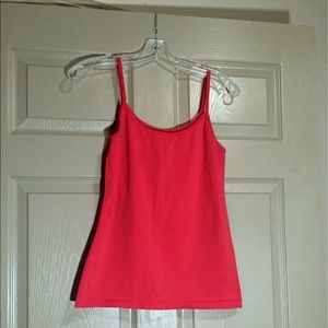 Worthington Coral Seamless Suitable Spandex Cami