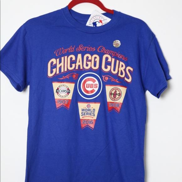 0238c8f6 Majestic Shirts | Chicago Cubs World Series Champions Tshirt | Poshmark