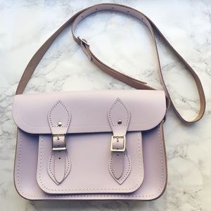 "Classic Cambridge Satchel 11"" Bag in Lilac"