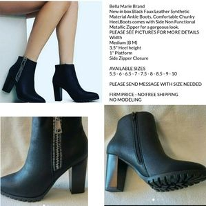 d821f3f68222 Bella Marie Shoes   New Women Ankle Bootie Zipper Closure   Poshmark