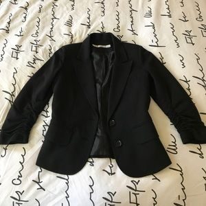 Gibson blazer with 3/4 sleeves