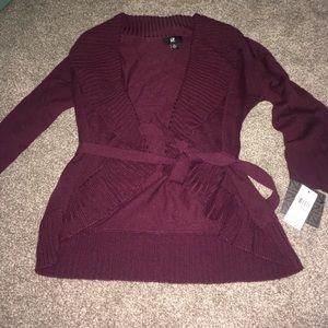 Women's wrap sweater