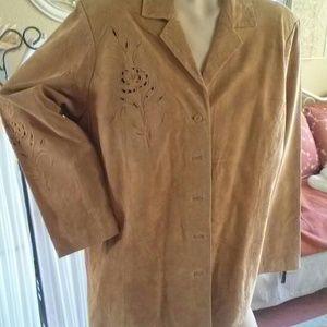 Victor Costa suede jacket