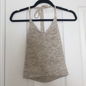 Cropped Halter Top