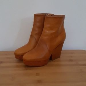 Maison Margiela high ankle wedge boot, size 37 NEW
