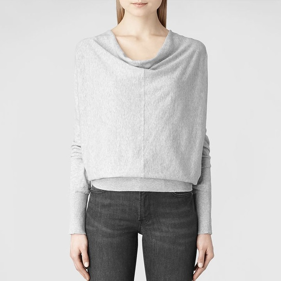 68% off All Saints Sweaters - SALE 🎉All Saints Elgar Cowl Neck ...