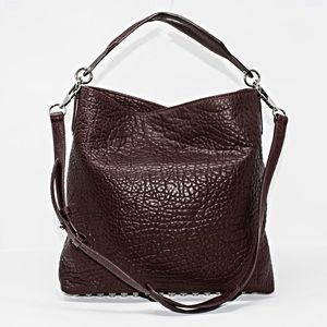 NEW ALEXANDER WANG DARCY LAMBSKIN LEATHER HOBO