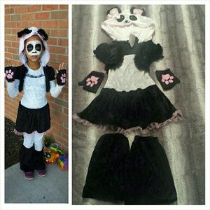 Other - Girl's Panda Costume size S/6x/7
