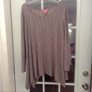 Woman Within Pullover Top Size 1X