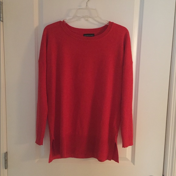 Cynthia Rowley - Tomato Red Sweater from Ashley's closet on Poshmark