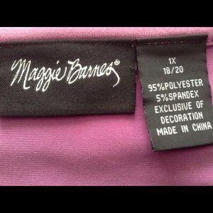 Maggie Barnes Tops - Slinky 'BLING' Top.           NWOT