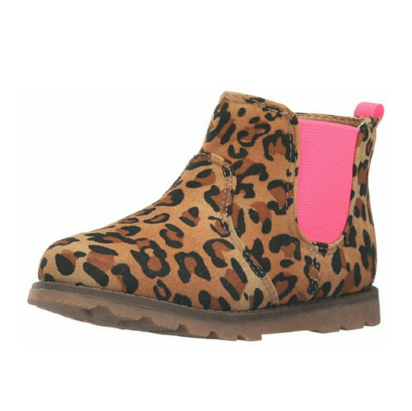ce774747445c Carter's Shoes | Carters Girls Leopard Boots Size 7 Or 8 | Poshmark