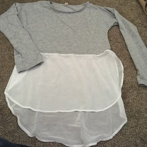 Tops - Sheer t shirt