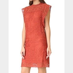 ministry of style Dresses - Ministry of style burnt orange lace dress
