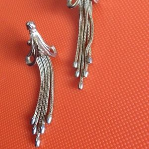 Vintage Jewelry - 💫Art Deco Jellyfish ⏬ Candelabra Earrings