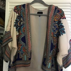 Anthropologie kimono shrug