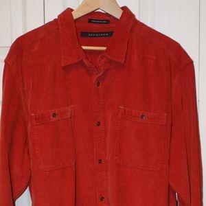 Sean John Corduroy Shirt 3XL....NWT