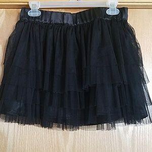 Studio Y Black Tulle Skirt