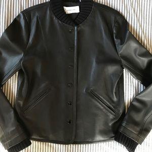 2eb3d40d2bbf 10 Crosby Derek Lam Jackets   Coats - NWT Derek Lam Black Leather Varsity  Jacket -