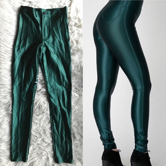 d223e4332f65e American Apparel Pants - CLEARANCE✨American Apparel Forest Green Disco Pant