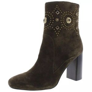 Sigerson Morrison Sheyla Suede Ankle Boots, 8 M