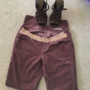 Pants - GAP Maternity Cord Pants