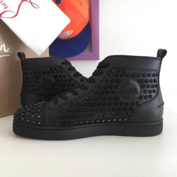 outlet store f2066 c3218 Christian louboutin ... spiked sneakers NWT