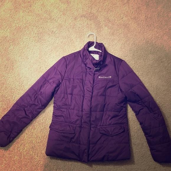 1dd4bd7caea Purple puffer jacket