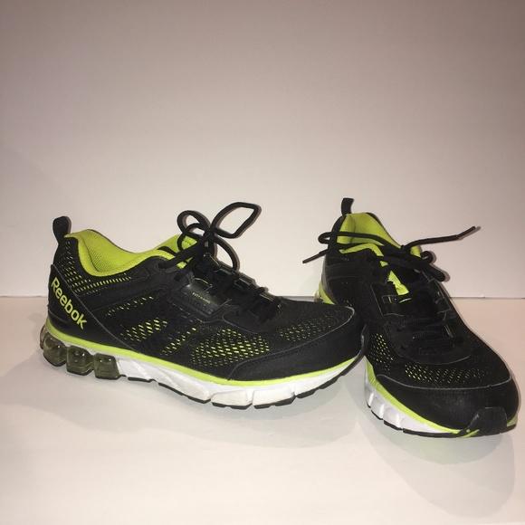 421ad085e7c8 Reebok Mens Jet Dashride Running Shoe Black 11