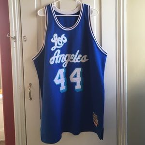 Other - Jerry West #44 Los Angeles Jersey