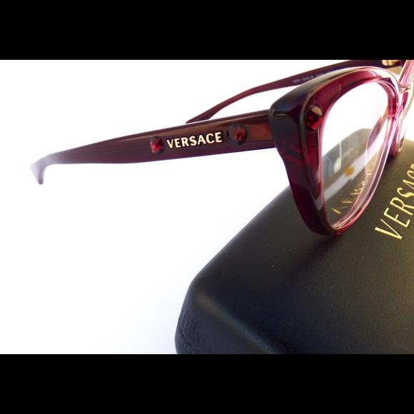 84cf2a0b61f7 100% Authentic Versace Gradient Purple Eyeglasses!  M 59ceba4d620ff772b00226b5