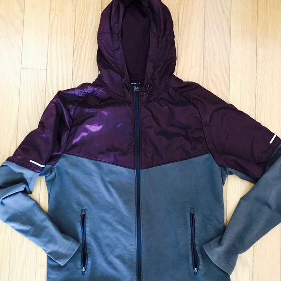 86763aff6 Nike Jackets & Coats | Womens Dryfit Hoodie Zip Up Running Jacket ...