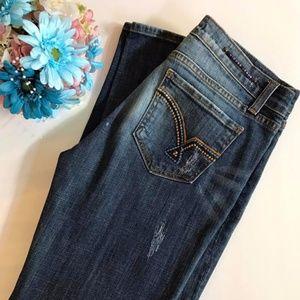 Vigoss straight leg jeans sz. 7